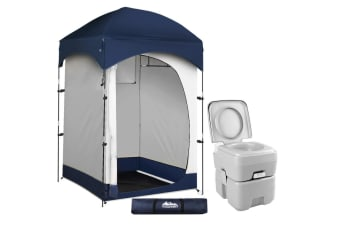 Weisshorn 20L Outdoor Portable Toilet Camping Shower Tent Change Room Ensuite