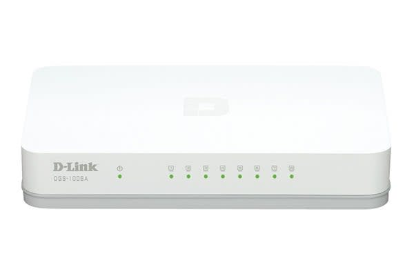 D-Link 8-Port Gigabit Desktop Switch (DGS-1008A)