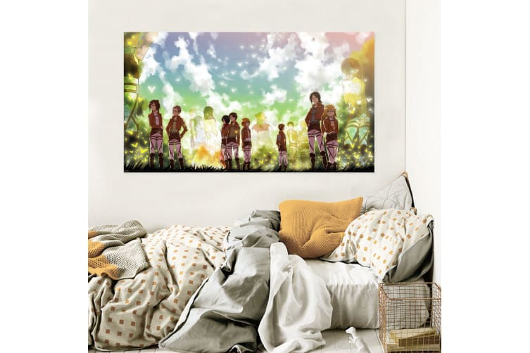 3D Attack On Titan 776 Anime Wall Stickers Self-adhesive Vinyl, 180cm x 100cm(70.8'' x 39.3'') (WxH)