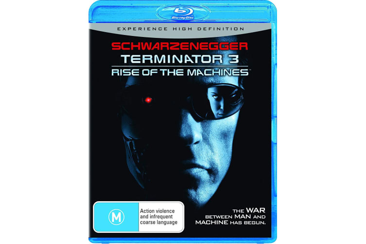 Terminator 3 Rise of the Machines Blu-ray Region B