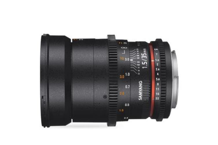 New Samyang 35mm T1.5 AS UMC VDSLR MK II for Sony E-Mount (FREE DELIVERY + 1 YEAR AU WARRANTY)