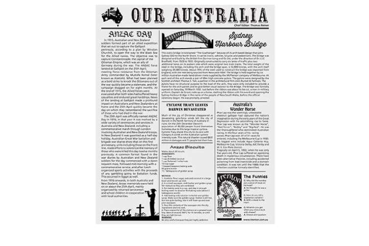 Grease Proof Newspaper - Pack Of 200
