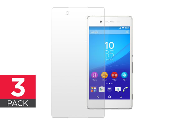 3 Pack Screen Protector for Sony Xperia Z3+