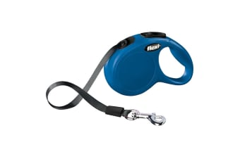 Bodgahn International Flexi New Classic Tape Dog Lead (Blue)