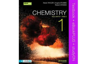 Chemistry 1 - VCE Units 1 and 2 & eBookPLUS + StudyOn