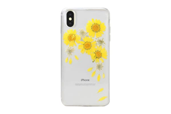 Recover iPhone X/Xs Case - Floral Yellow (REC076)