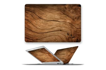 hard case cover for apple macbook pro 13 touch bar ID A1707 A1989 A1990 A2159-93Wood02