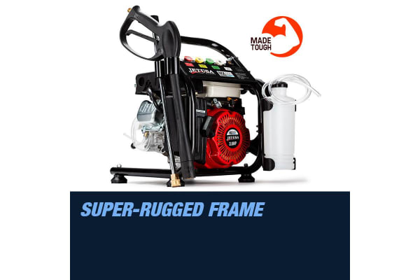 NEW Jet-USA Cleaner 3.6HP 3000 PSI High Pressure Washer Petrol Water Gurney Hose