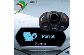 PARROT MKi9100 BLUETOOTH HANDSFREE STEREO CAR KIT FOR PHONE TEXT MUSIC WIRELESS