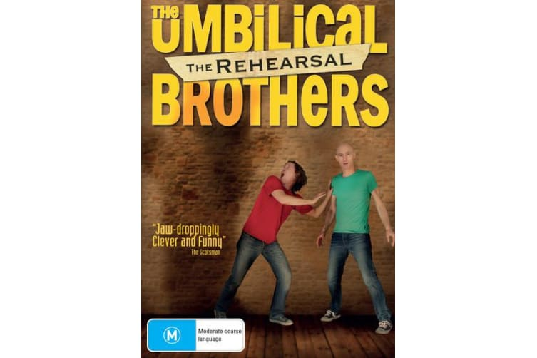 The Umbilical Brothers The Rehearsal DVD Region 4