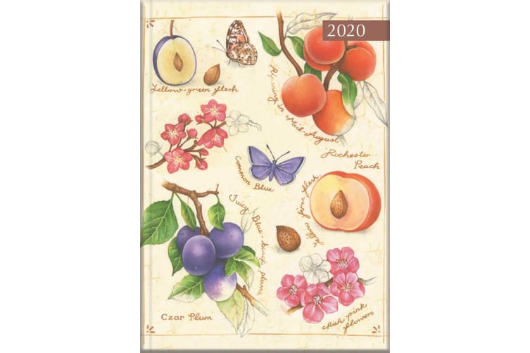Nature's Charm - 2020 Diary Planner A5 Padded Cover by The Gifted Stationery