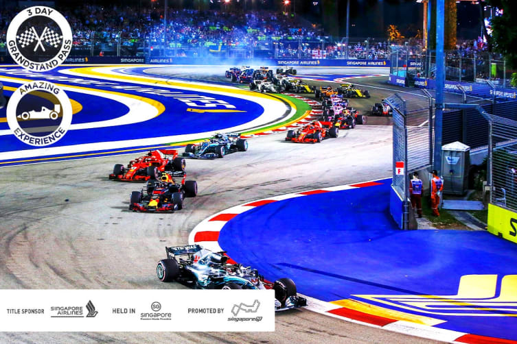 SINGAPORE: 5 Day Singapore Grand Prix™ Package for Two (Rendezvous Hotel)