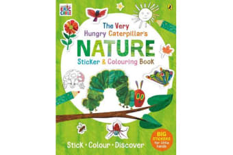 The Very Hungry Caterpillar's Nature Sticker and Colouring Book