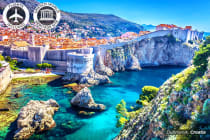 CROATIA: 10 Day Best of Croatia & Slovenia Tour With Flights for Two