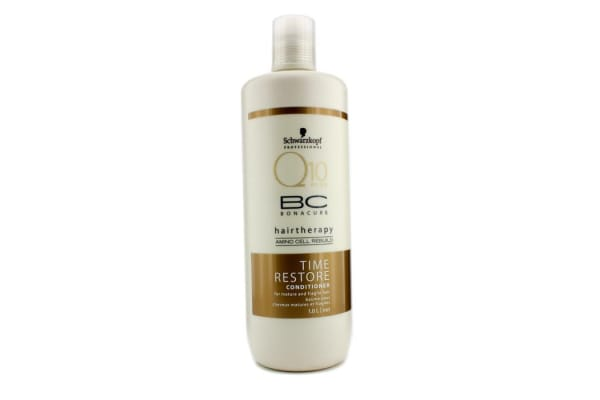 Schwarzkopf BC Time Restore Q10 Plus Conditioner (For Mature and Fragile Hair) (1000ml/34oz)