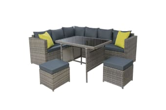 Outdoor Furniture Patio Set Dining Sofa Table Chair Lounge Garden Wicker