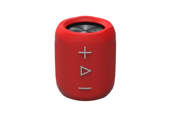 BlueAnt X1 Portable Bluetooth Speaker - Red (X1-RD)