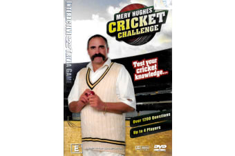 MERV HUGHES CRICKET CHALLENGE - Region 4 Rare- Aus Stock DVD NEW