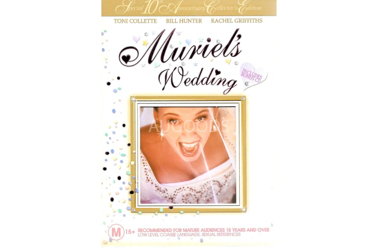 Muriel's Wedding - Region 4 Rare- Aus Stock DVD PREOWNED: DISC LIKE NEW