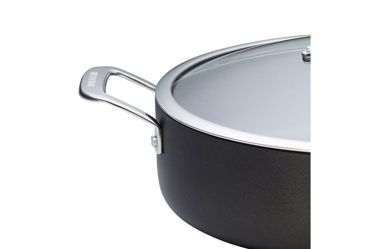 Wolstead Superior+ Chef's Pan with Lid and Two Helper Handles 32cm - 6.5L
