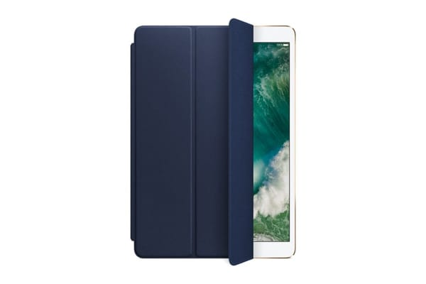 "Apple Leather Smart Cover for 10.5"" iPad Pro (Midnight Blue)"