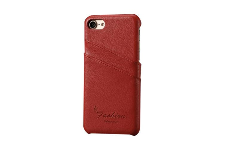 sale retailer 5fdd3 5f6a6 For iPhone 8 7 Case Fashion Stylish Handmade Genuine Lychee Leather ...