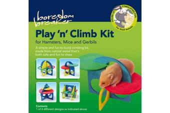 Rosewood Boredom Breaker Play And Climb Hamster Kit (Multicoloured) (One Size)