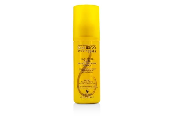 Alterna Bamboo Smooth Curls Anti-Frizz Curl Re-Activating Spray (For Frizz-Free Hair) (125ml/4.2oz)