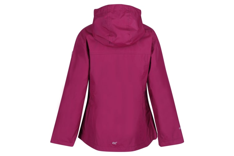 Regatta Childrens/Kids Jaidyn Waterproof Jacket (Beetroot) (9-10 Years)
