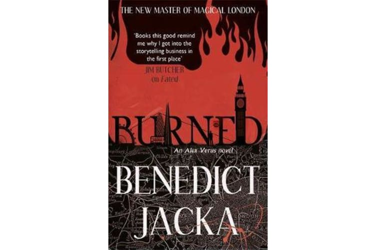 Burned - An Alex Verus Novel from the New Master of Magical London