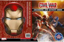 Marvel Captain America - Civil War Colouring and Activity Book
