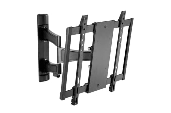 "Westinghouse 32""-50"" Dual Arms 400x400mm TV Vesa Tilt Wall Mount Bracket Black"