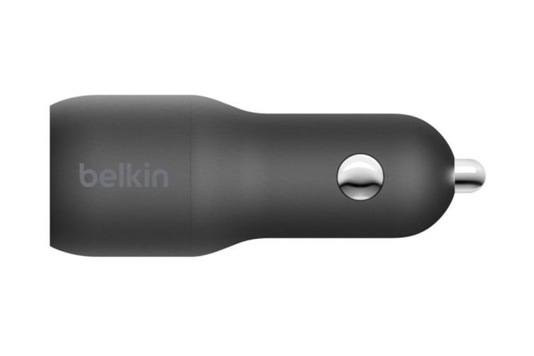 Belkin Boost Up Charge USB-C and USB-A 30W Car Charger (F7U100BTBLK)