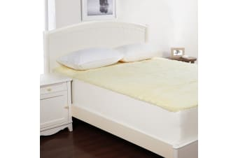 Wool Underlay Queen Bed