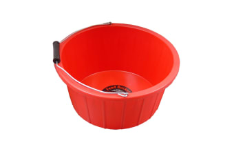 ProStable Feed Bucket (Red) (3 Gallons)
