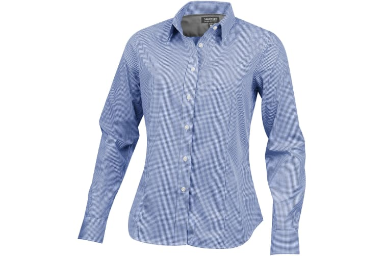 Slazenger Net Long Sleeve Ladies Shirt (Blue) (XS)