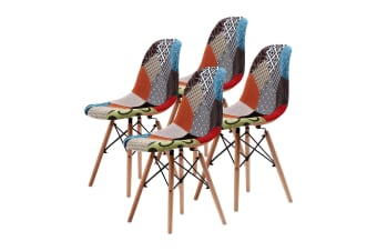 4X DSW Dining Chair Fabric - MULTI
