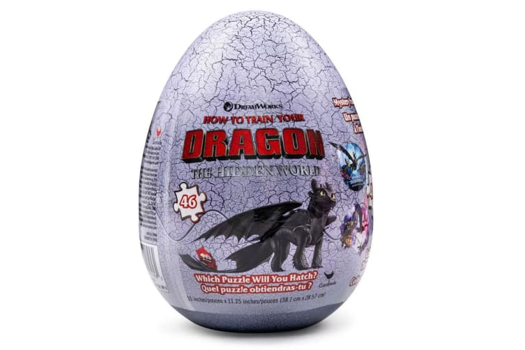 46pc How To Train Your Dragon The Hidden World Egg Puzzle