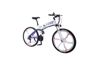 """AKEZ 350W 36V BM Electric Bike eBike Mountain Motorized Bicycle 26"""" with Build-in Battery"""