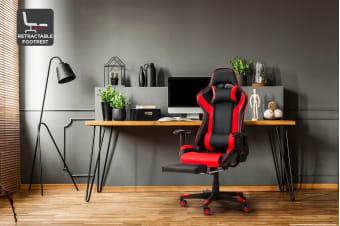 Ergolux Kevlar Gaming Chair (Red)