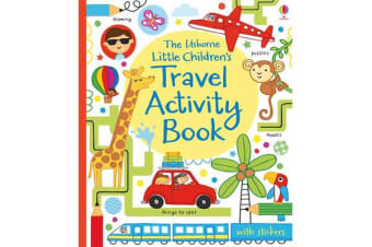 Little Children's Travel Activity Book