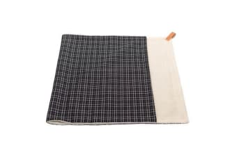 Ralph & Co Ascot Tweed Dog Blanket (Black/Grey Tweed)