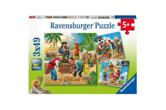 Ravensburger Adventure on the High Seas Puzzle - 3 x 49 Piece