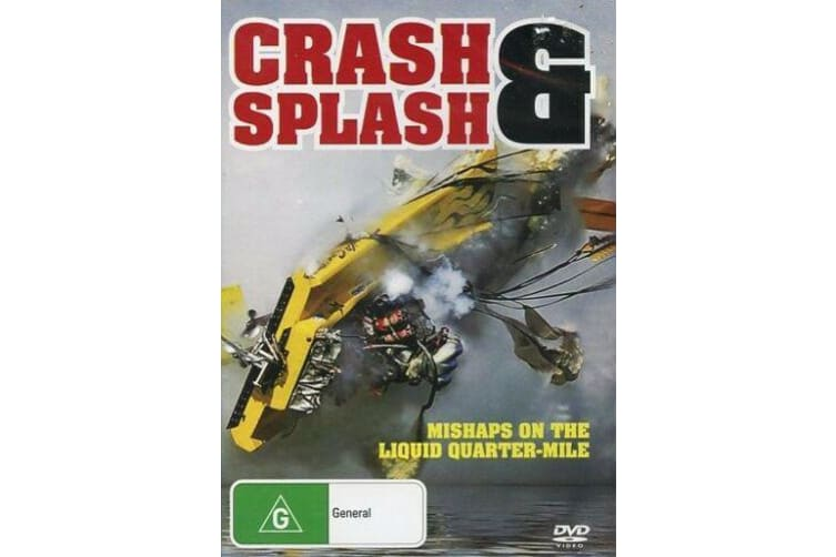 Crash & Splash Hydro Drag Speed Boat Racing - Series Rare- Aus Stock Preowned DVD: DISC LIKE NEW