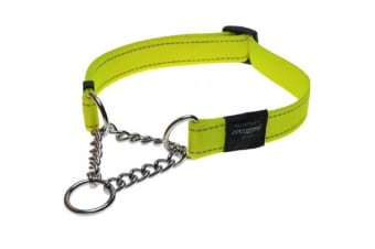 Rogz Dog Obedience Collar Dayglo - M