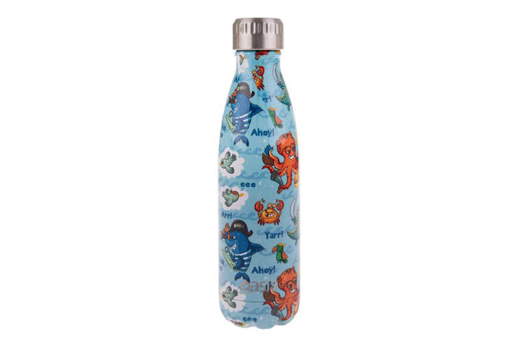 Oasis Stainless Steel Double Wall Insulated Drink Bottle 500ml Pirate Bay