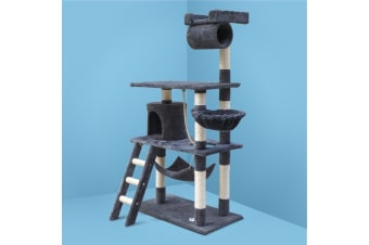Cat Tree Trees Scratching Post Scratcher Tower Condo House Furniture