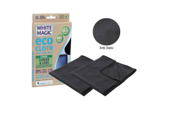 White Magic Eco Cloth Screen And Lens Cloth Pk 2
