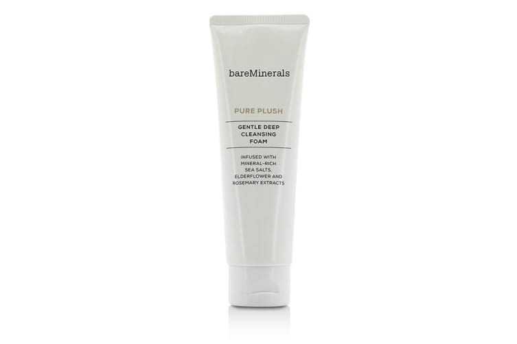 BareMinerals Pure Plush Gentle Deep Cleansing Foam 120g