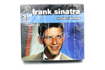 Frank Sinatra - he did it his way BRAND NEW SEALED MUSIC ALBUM CD - AU STOCK